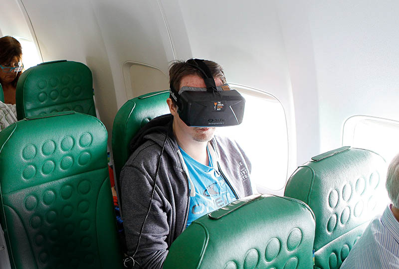 Transavia onboard Virtual Reality Entertainment